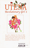 Backcover Utena - Revolutionary Girl 1