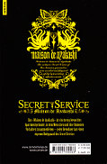 Backcover Secret Service - Maison de Ayakashi 9