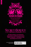 Backcover Secret Service - Maison de Ayakashi 10