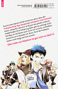 Backcover Yamada-kun and the seven Witches 1