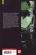 Backcover Seraph of the End 1