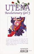Backcover Utena - Revolutionary Girl 5