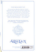 Backcover The Heroic Legend of Arslan 3