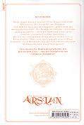 Backcover The Heroic Legend of Arslan 6