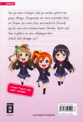 Backcover Love Live! School Idol Diary 1