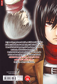 Backcover Attack on Titan - Lost Girls 2