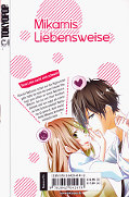 Backcover Mikamis Liebensweise 1