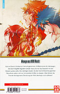 Backcover Magi - The Labyrinth of Magic 36
