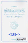 Backcover The Heroic Legend of Arslan 8
