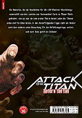 Backcover Attack on Titan - Before the fall 14
