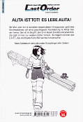 Backcover Battle Angel Alita: Last Order 3