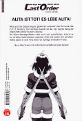 Backcover Battle Angel Alita: Last Order 4