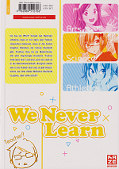 Backcover We never learn 1