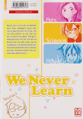 Backcover We never learn 2