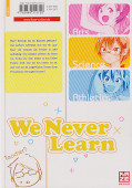 Backcover We never learn 3