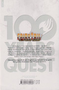 Backcover Fairy Tail - 100 Years Quest 1