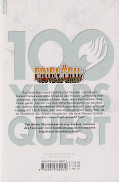 Backcover Fairy Tail - 100 Years Quest 2