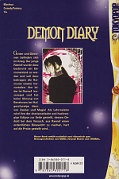 Backcover Demon Diary 1