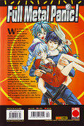 Backcover Full Metal Panic! 4