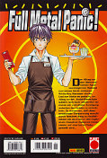 Backcover Full Metal Panic! 6