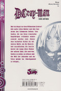 Backcover D.Gray-Man 1
