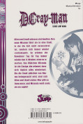 Backcover D.Gray-Man 3