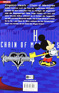 Backcover Kingdom Hearts - Chain of Memories 2