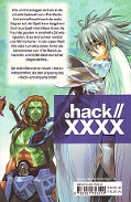 Backcover .hack//XXXX 1