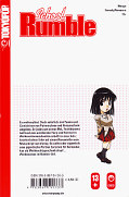 Backcover School Rumble 13