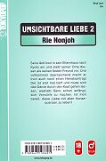 Backcover Unsichtbare Liebe 2