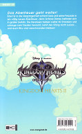 Backcover Kingdom Hearts II 5