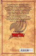 Backcover Fairy Tail 4