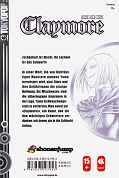Backcover Claymore 16