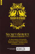Backcover Secret Service - Maison de Ayakashi 1