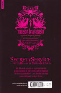 Backcover Secret Service - Maison de Ayakashi 2