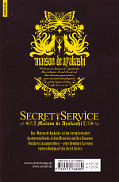 Backcover Secret Service - Maison de Ayakashi 3