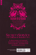 Backcover Secret Service - Maison de Ayakashi 4