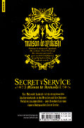Backcover Secret Service - Maison de Ayakashi 5