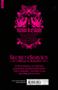 Backcover Secret Service - Maison de Ayakashi 6