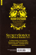 Backcover Secret Service - Maison de Ayakashi 7