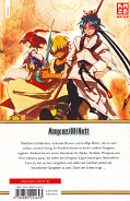 Backcover Magi - The Labyrinth of Magic 10