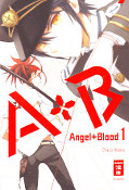 Frontcover A+B – Angel+Blood 1
