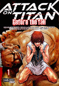 Frontcover Attack on Titan - Before the fall 1