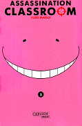 Frontcover Assassination Classroom 3