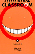 Frontcover Assassination Classroom 4