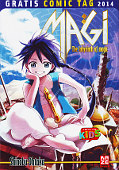 Frontcover Magi - The Labyrinth of Magic 1