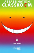Frontcover Assassination Classroom 10