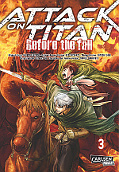 Frontcover Attack on Titan - Before the fall 3