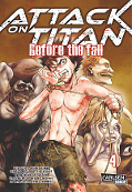 Frontcover Attack on Titan - Before the fall 4