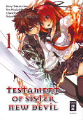 Frontcover The Testament of Sister New Devil 1